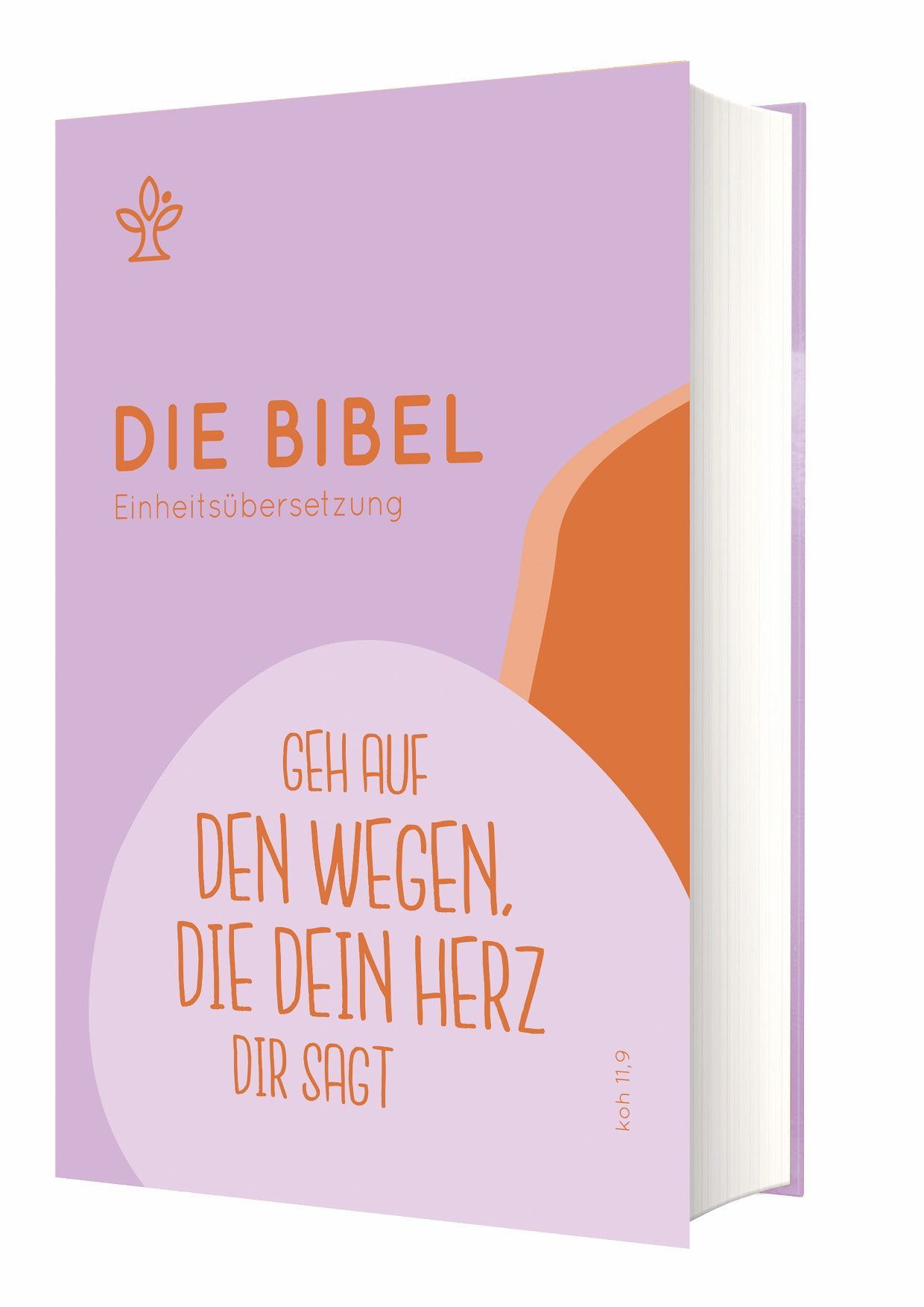 """Die Bibel - Einheitsübersetzung - Schulbibel """"Geh auf den Wegen, die dein Herz"""""""