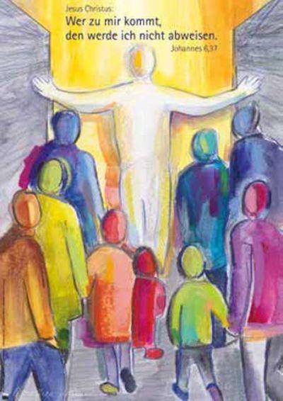 Jahreslosung 2022 - Kunstblatt A4