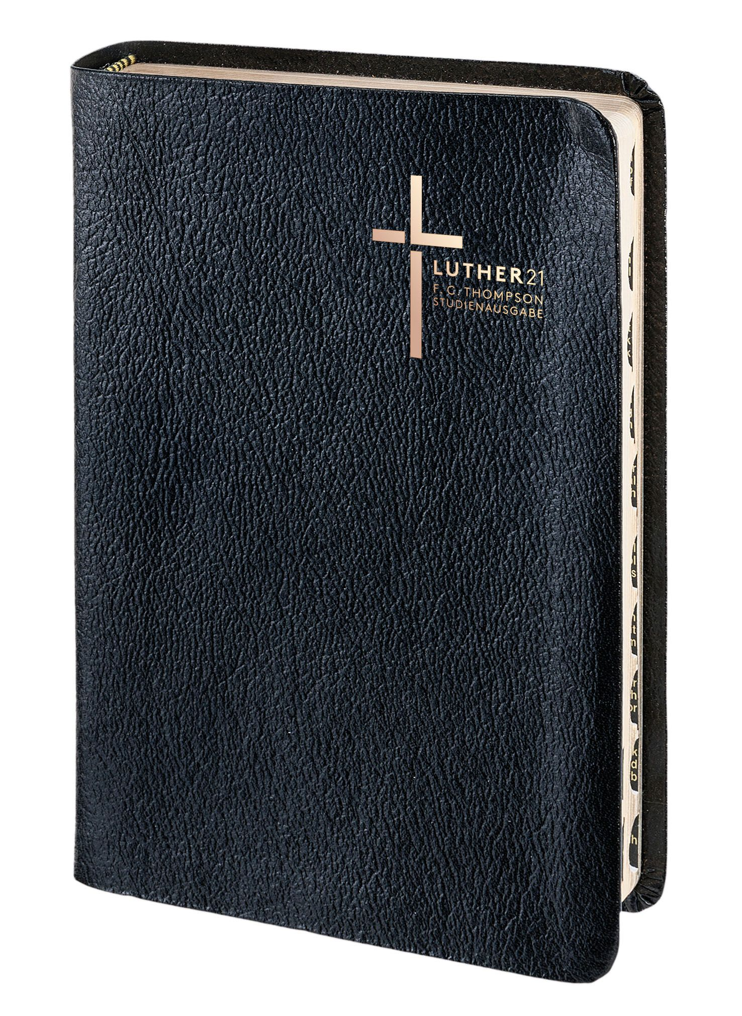 Luther21 - F.C.Thompson Studienausgabe - Grossausgabe Lederfaserstoff