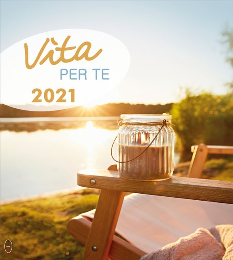 Leben für Dich 2021 - Italienisch Postkartenkalender