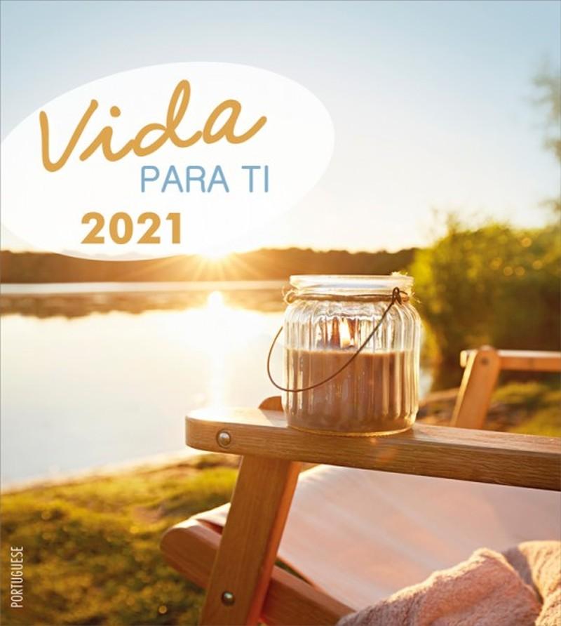 Leben für Dich 2021 - Portugiesisch Postkartenkalender