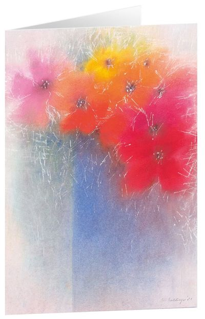 """Kunstkarten """"Blumenstrauß"""" - 5 Stk."""
