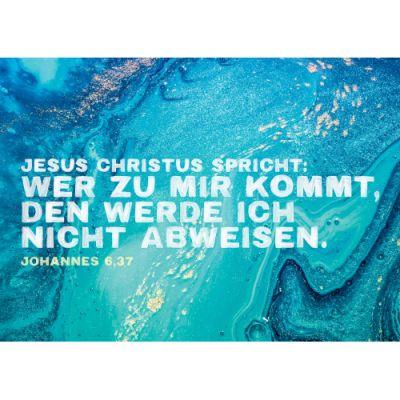 """Jahreslosung 2022 - Poster A3 """"Motiv Bewegung"""""""
