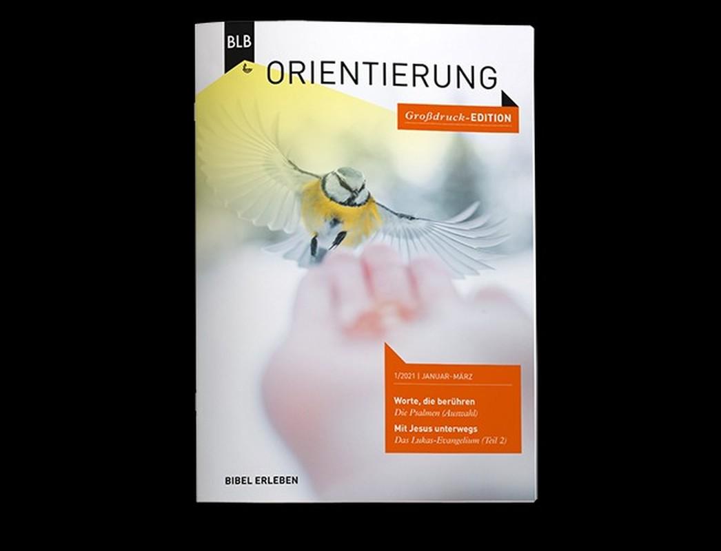 Orientierung Großdruck-Edition 1.Quartal 2021