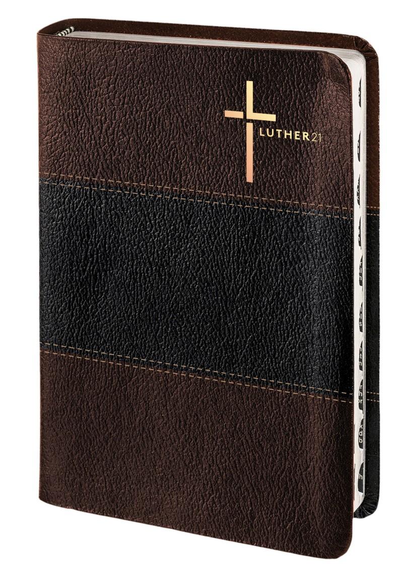 Luther21 - Standardausgabe - Kunstleder Braun