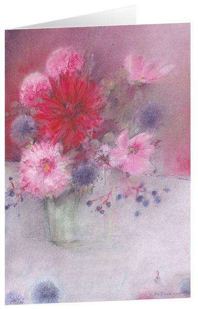 """Kunstkarten """"Blumen für dich"""" 5 Stk."""