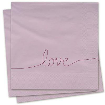 Servietten - Love