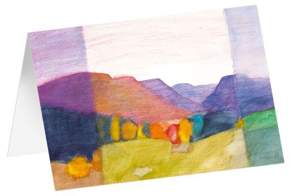 """Kunstkarten """"Herbstfarben"""" - 5 Stk."""