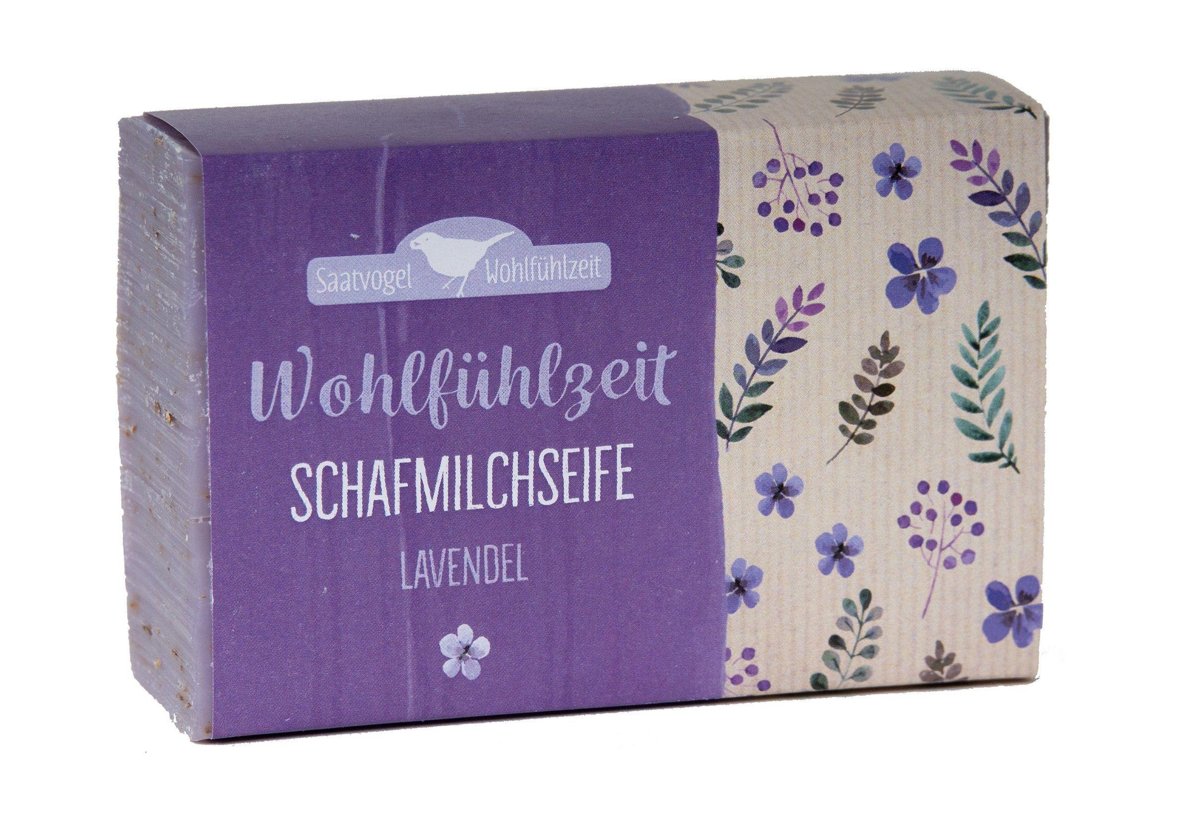 Schafmilchseife Wohlfühlzeit - Lavendel