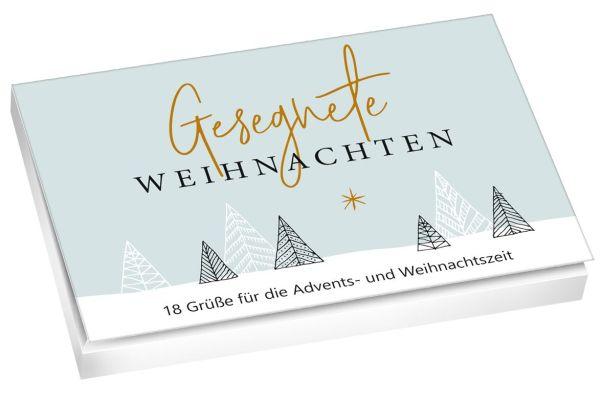 Gesegnete Weihnachten - Postkartenset