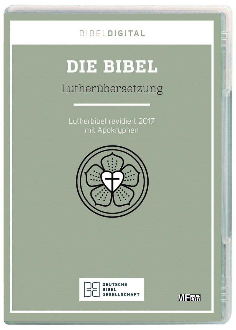 Luther 2017 mit Apokryphen - CD-ROM