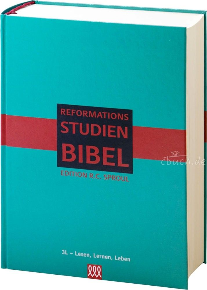 Reformations-Studien-Bibel 2017 - Version Türkis