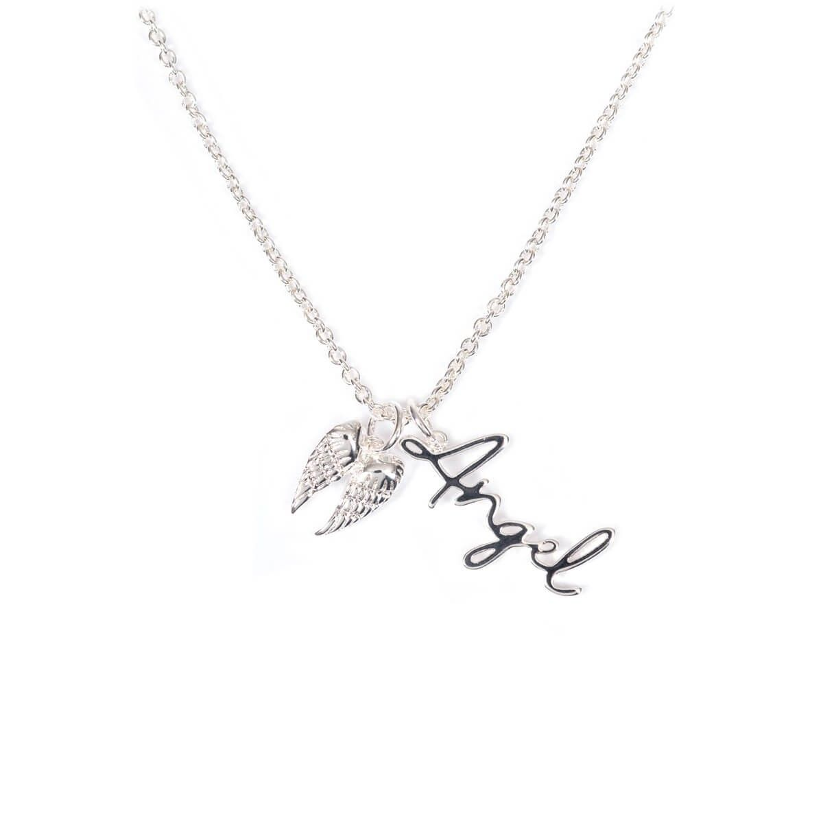 "Halskette ""Flügel-Angel"""