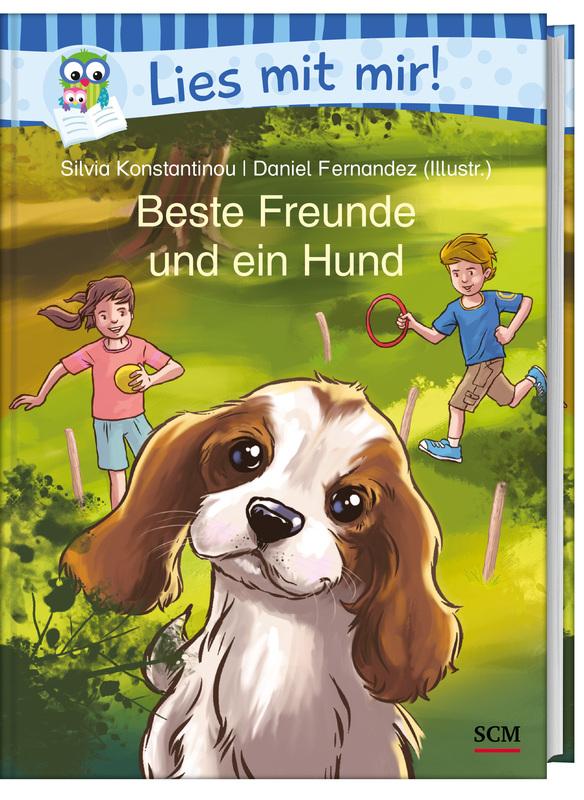 Beste Freunde und ein Hund