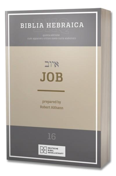 Biblia Hebraica Quinta - Job