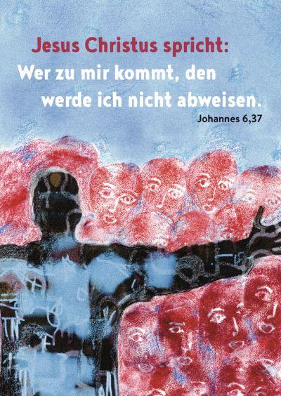 Jahreslosung 2022 - Postkarten 10 Stk.