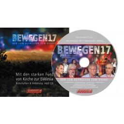 bewegen17 - mp3-CD