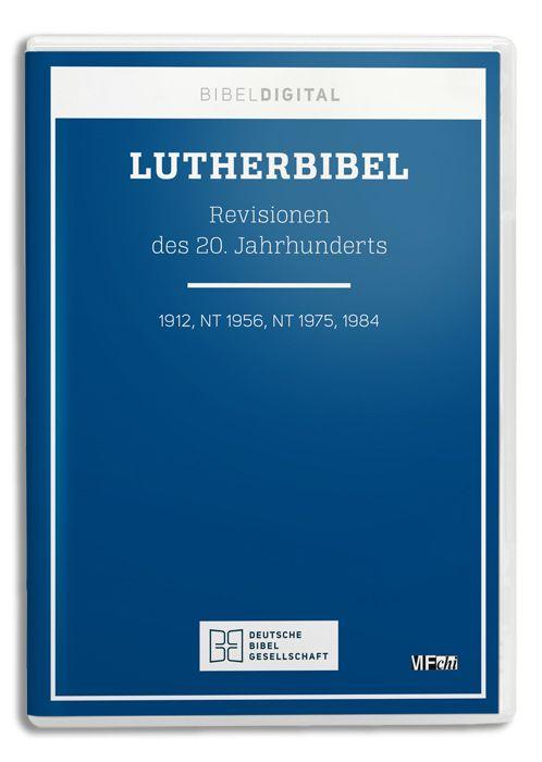 Lutherbibel. Revisionen des 20. Jahrhunderts