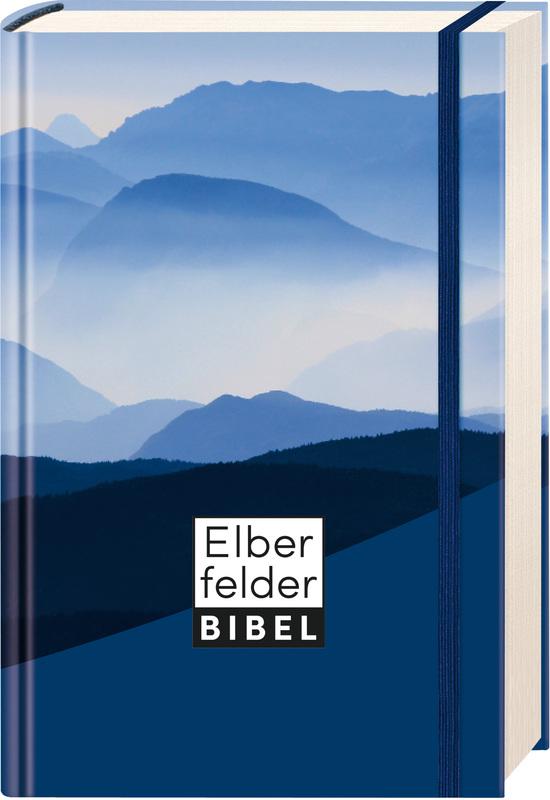 Elberfelder Bibel - Taschenausgabe, Motiv Berge, mit Gummiband