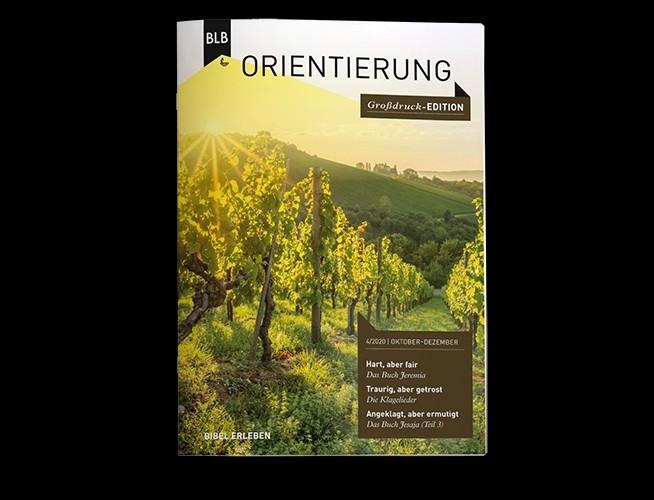 Orientierung Großdruck-Edition 4.Quartal 2021