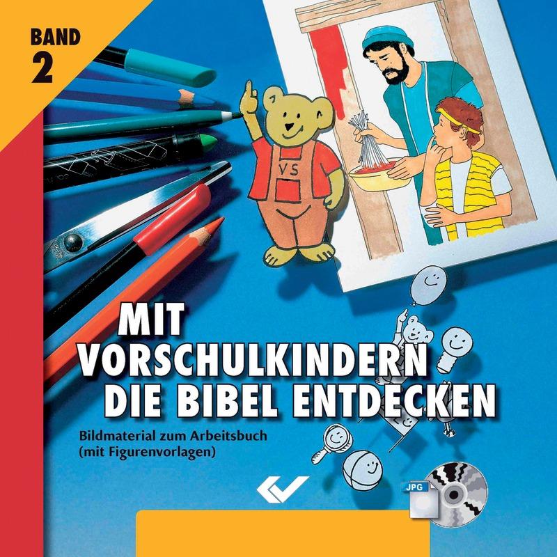 Mit Vorschulkindern die Bibel entdecken - CD-ROM 2