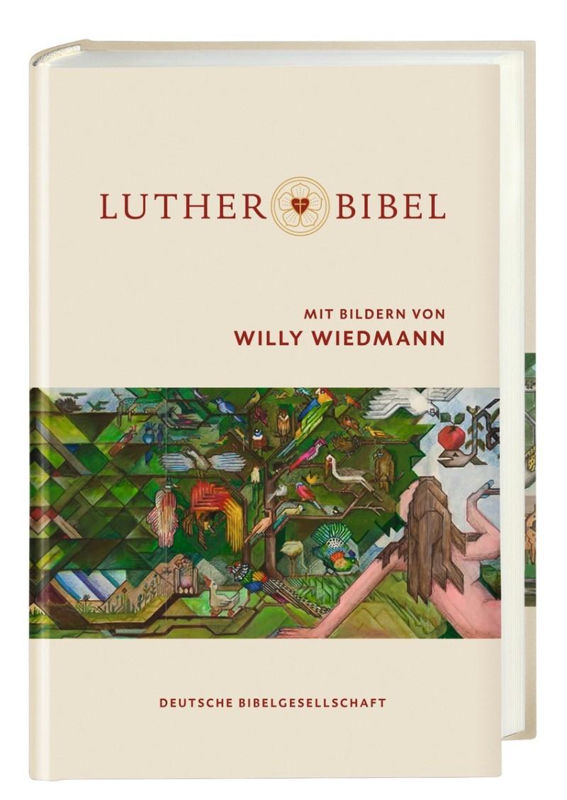 Lutherbibel 2017 mit Bildern von Willy Wiedmann