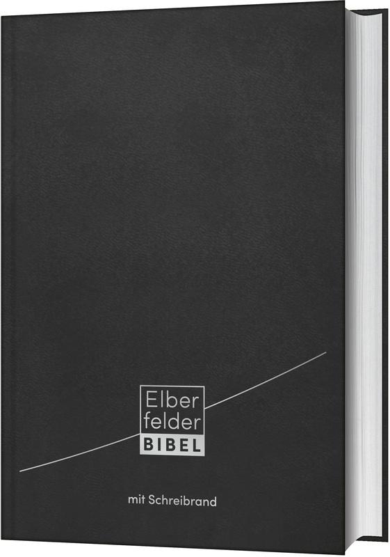 Elberfelder Bibel - mit Schreibrand, Leder