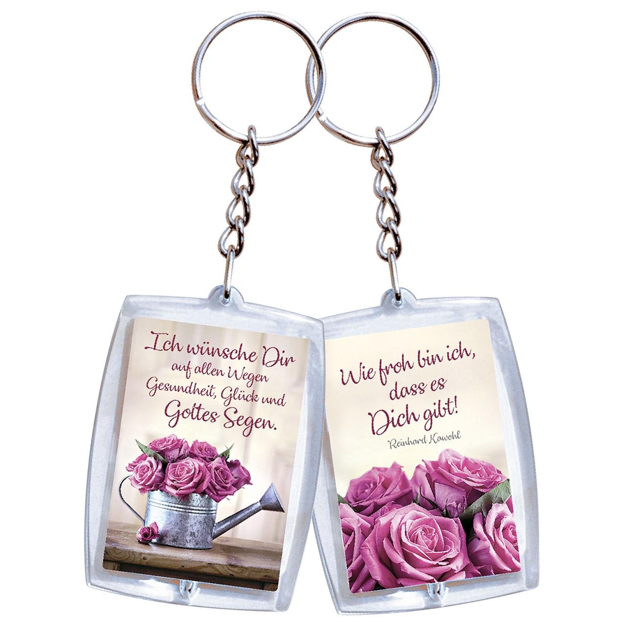Schlüsselanhänger: Ich wünsche dir auf allen Wegen