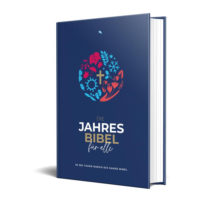 Hoffnung für alle. Die Jahresbibel: Four Seasons / Blue Edition